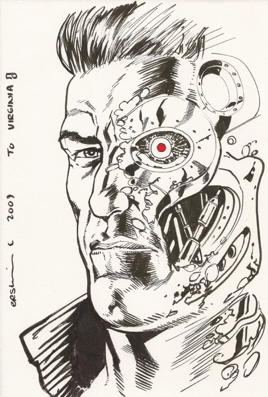 Gary Erskine Online Terminator Sketch 2009