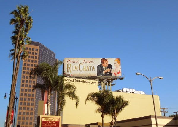Festive Rum Chata billboard