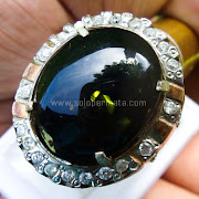 Cincin Batu Permata Green Fire Opal - SP740