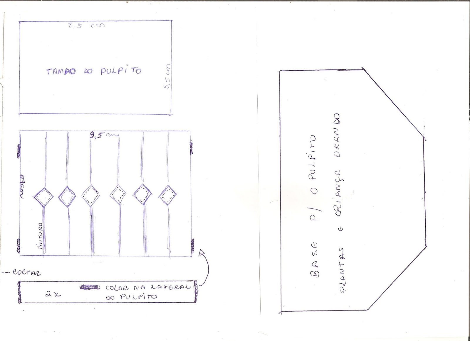 AM ARTES: Molde do pulpito #5F4F73 1600x1163