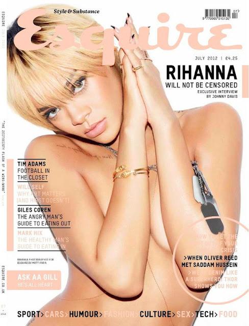 Rihanna para revista Esquire UK