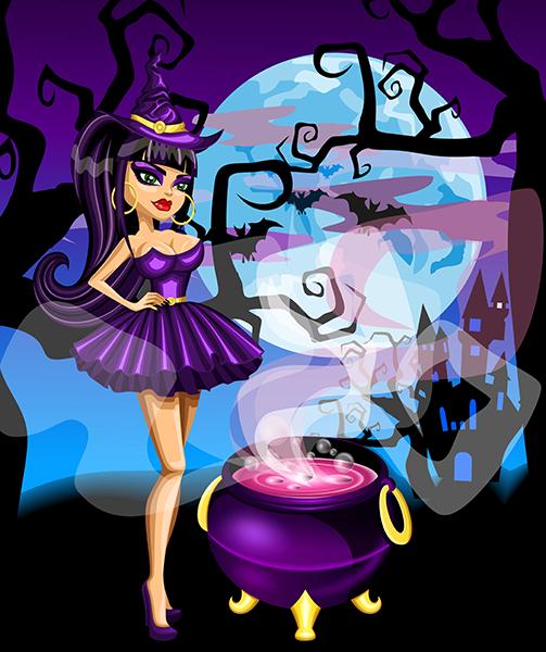 brulita de halloween 2.0 - vector