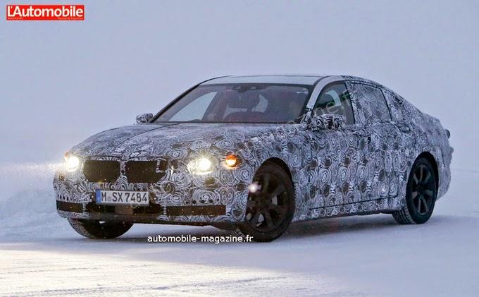 BMW serie 7 2016 camuflado