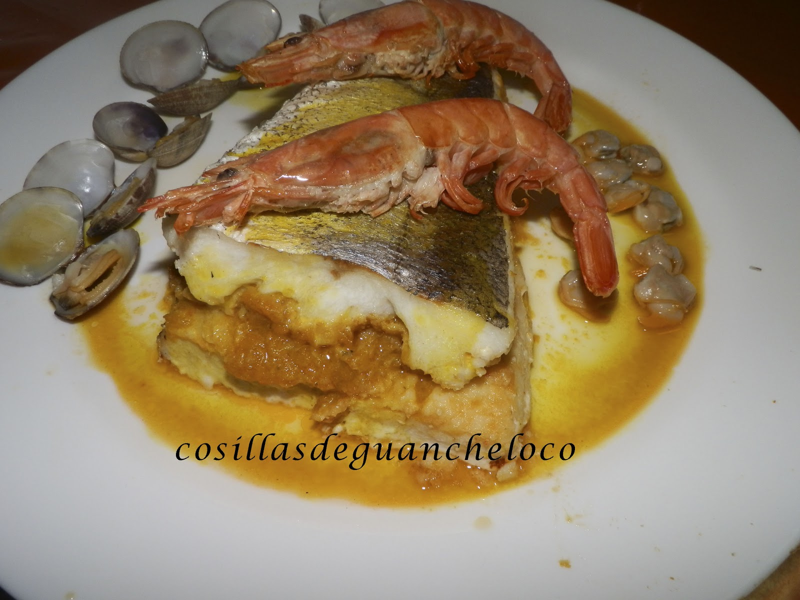 Aprendiendo a cocinar cosillas de guancheloco cola de for Cocinar filetes de merluza