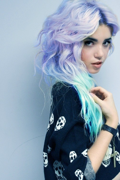 Dip Dye Hair Color Ideas