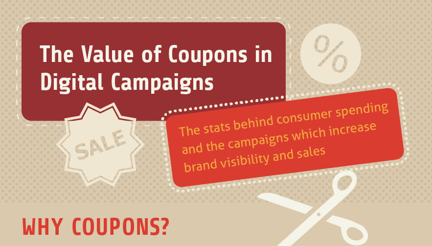 The Value of Coupons in Digital Campaigns - #infographic #marketing