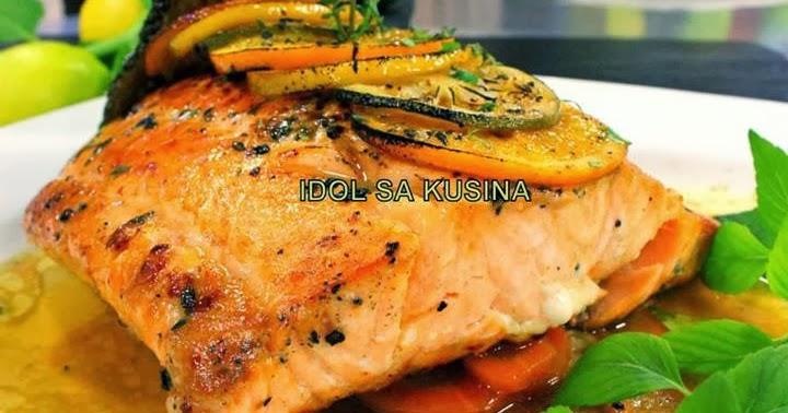 Idol Sa Kusina Recipes Pan Seared Salmon With Crispy Skin