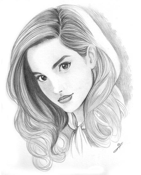 Bocetos de rostros de chicas - Imagui