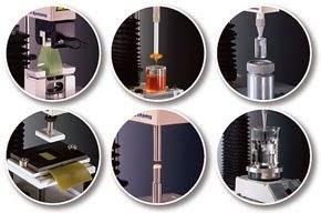 Medicion de adhesividad y pegajosidad con analizador de textura TA.XTPlus