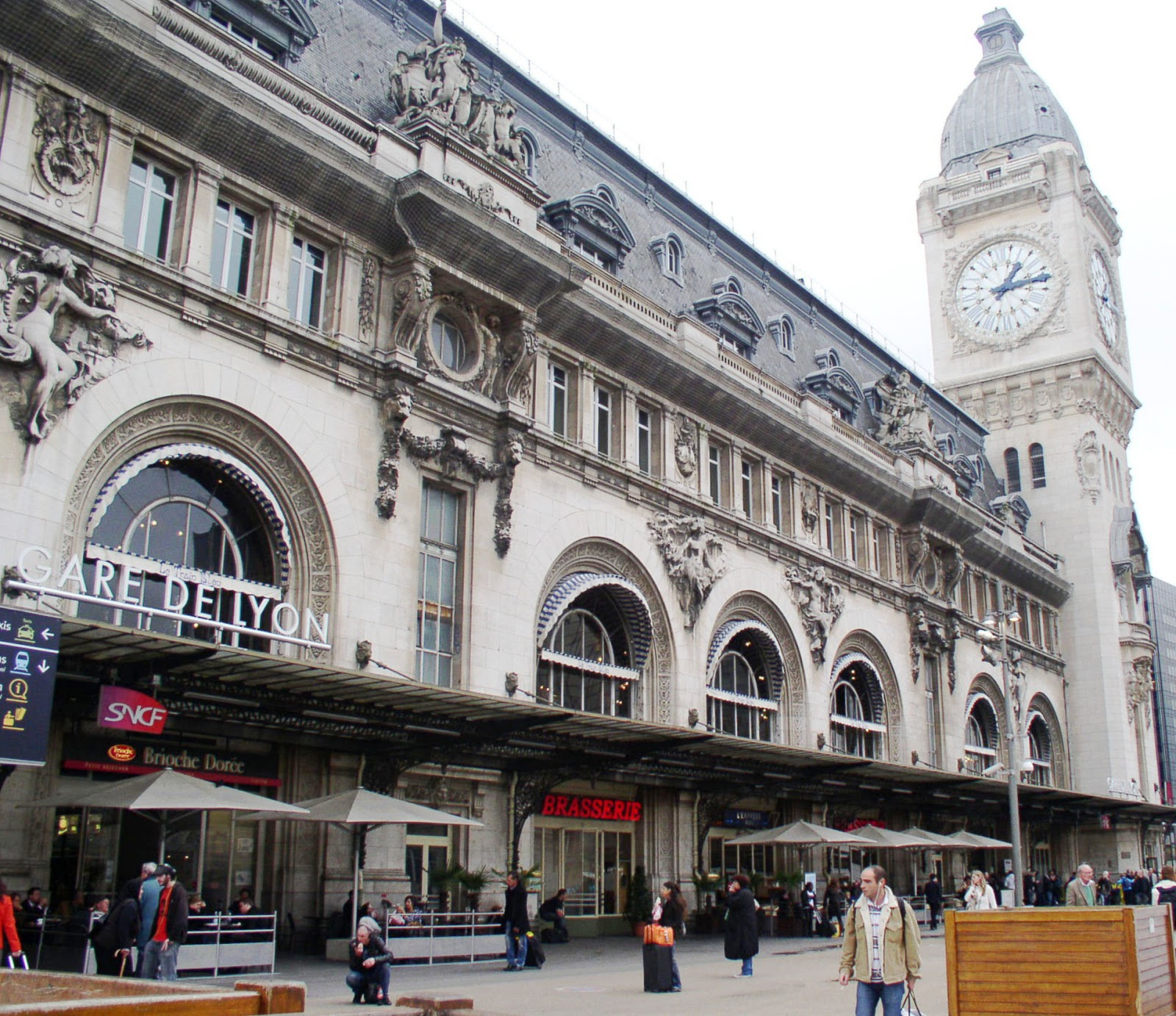 From paris with love gare de lyon - Gare de lyon jardin des plantes ...