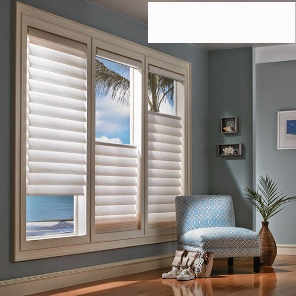 Window treatments for the living room modern house for Living room window treatments