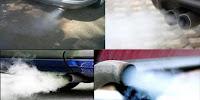 Warna asap kenalpot menentukan kondisi mesin kendaraan