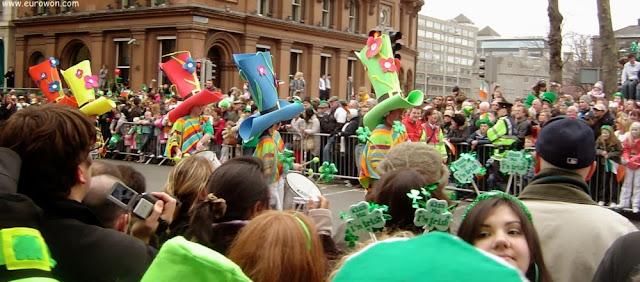 Desfile de Saint Patrick's Day en Dublín