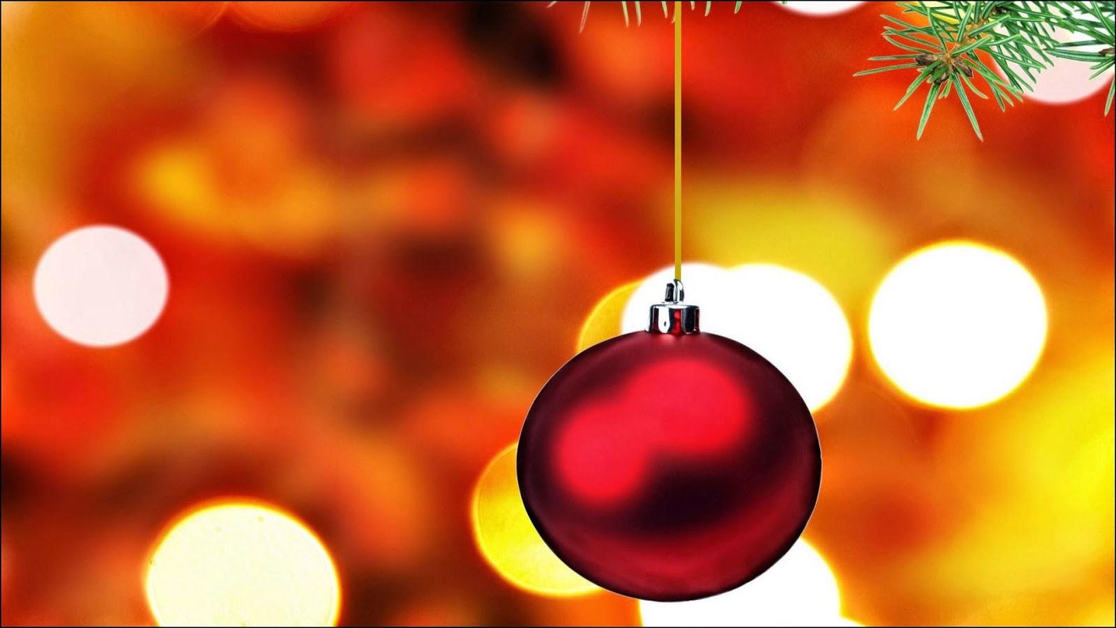 Bola de Navidad roja