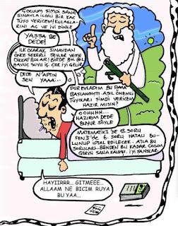 Özel ders karikatürleri 8