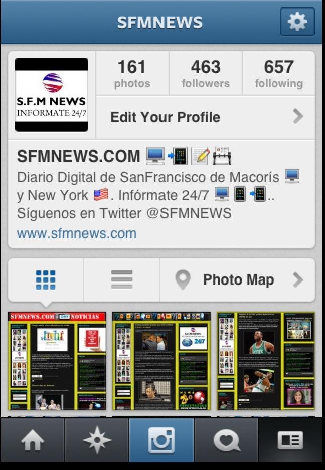 se puede descargar instagram para blackberry