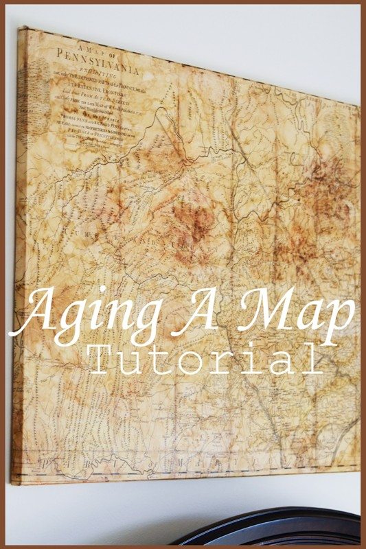 AGING A MAP TUTORIAL StoneGable - Antique looking maps