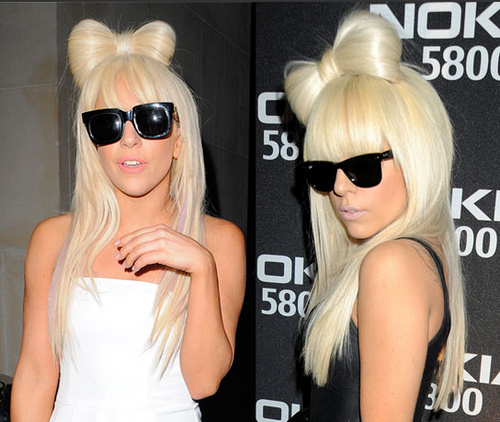 lady gaga hot wallpaper. wallpaper Lady GaGa Hair Bow