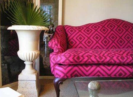 The Geometric Print Couch | * T h e * V i s u a l * V a m p *