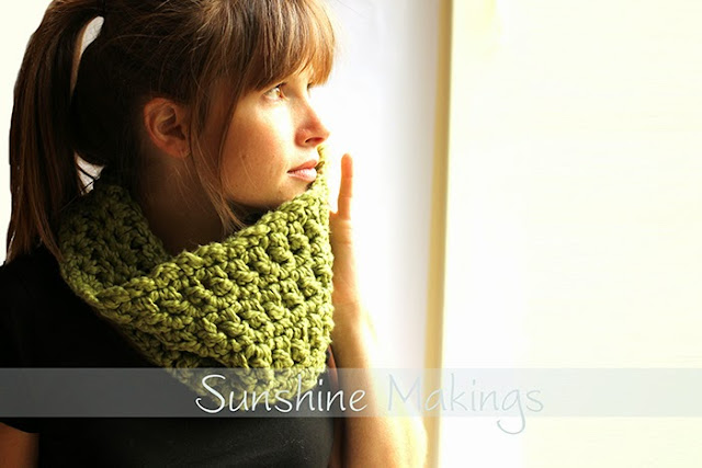 Organic Cotton Cowl by Sunshine Makings