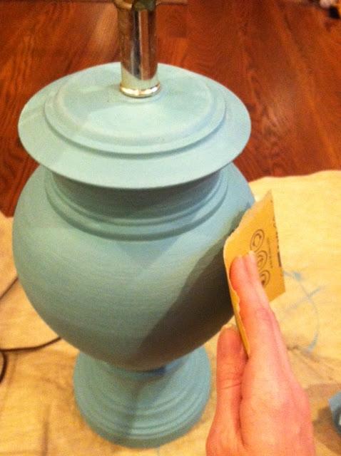 Annie Sloan Lamp