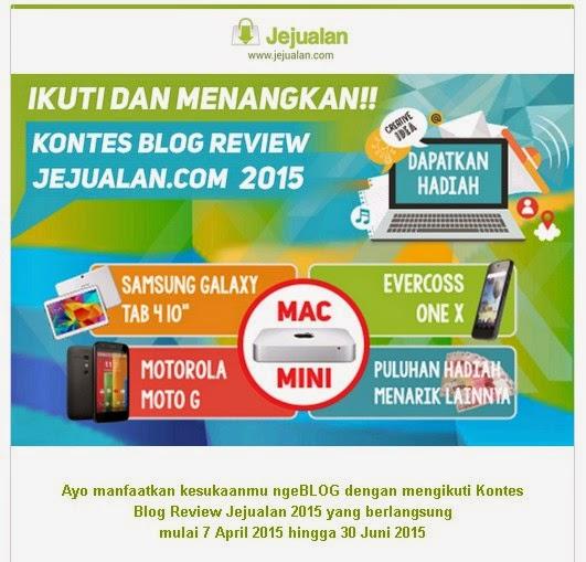 Kontes SEO berhadiah - Mac Mini dari Jejualan.com