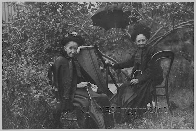 Martha Nevin nee Genge and Mary Genge ca 1920
