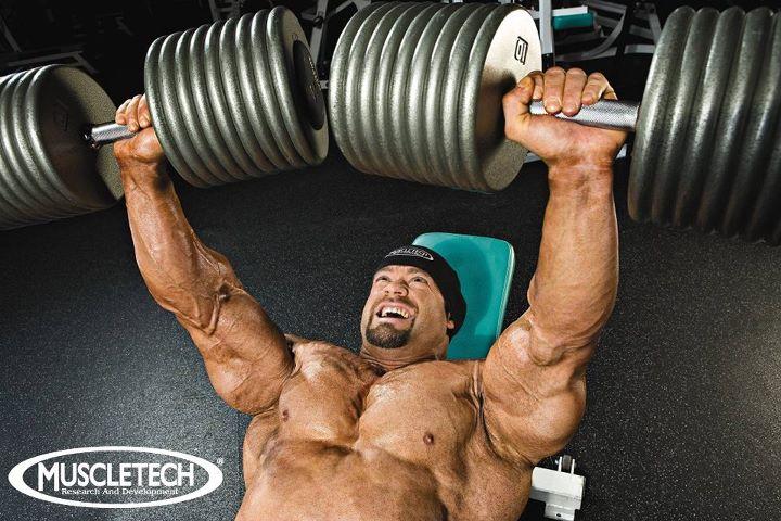 Branch Warrens MuscleTech Chest Workout