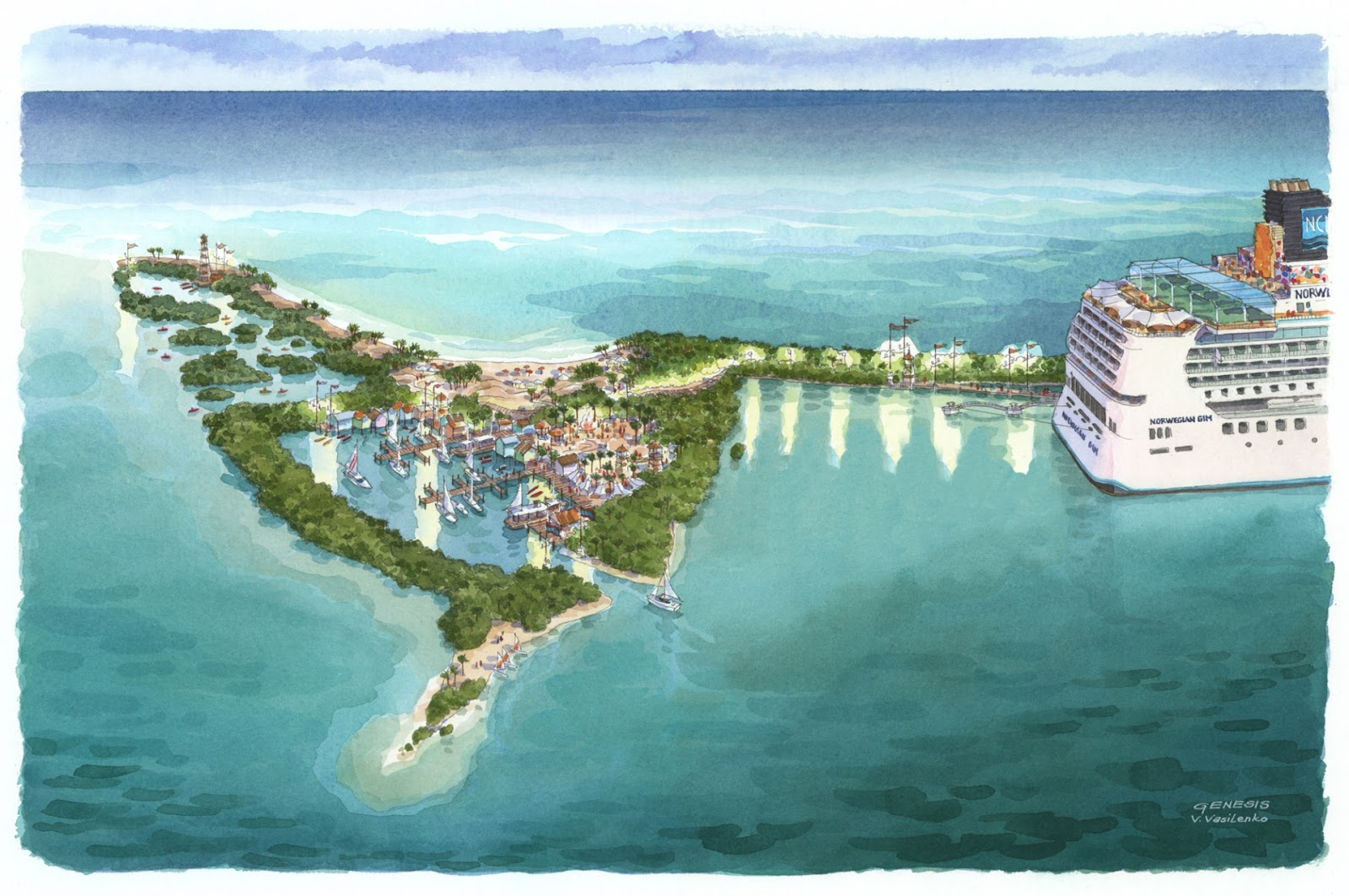 ocean creek resort map with Norwegian Cruise Line Plans Eco on Hotels further 160300067964697584 as well St Regis Monarch Beach Resort And Spa together with Winter Photo Album in addition Surf Pool.