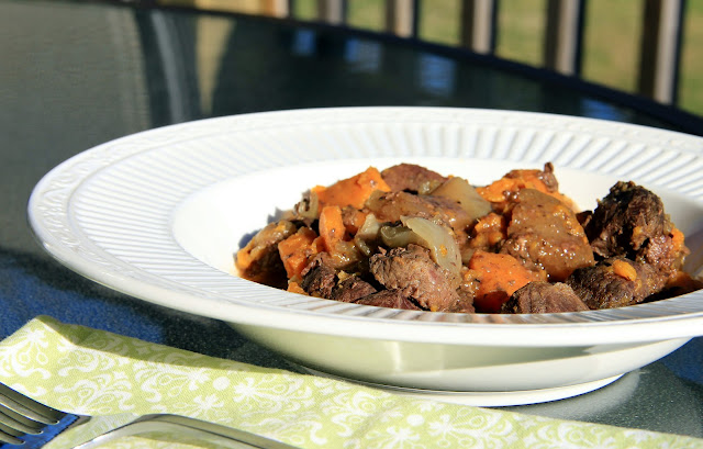 venison roast crock pot