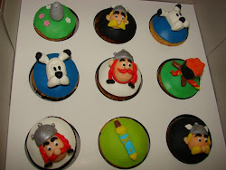 Cupcake Asterix &amp; Obelix