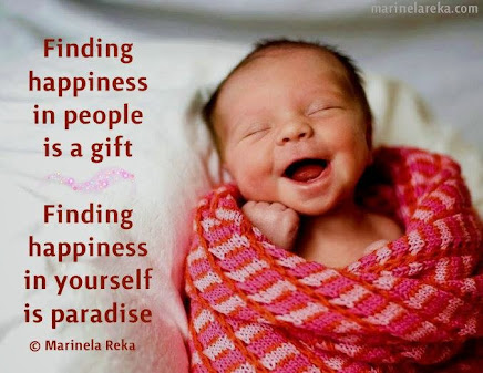 IF you are HAPPY,  you can find happiness ALL around you!