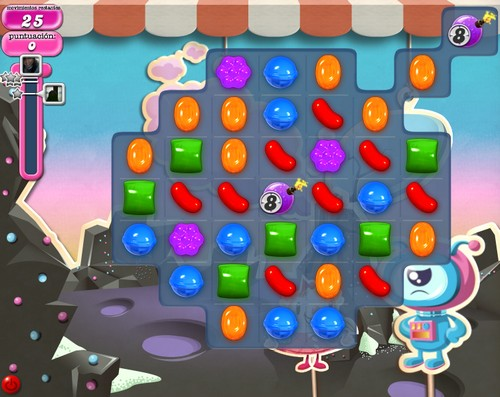 Nivel 97 de Candy Crush Saga