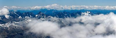 Возле Гроссглокнера. Австрия. Панорама