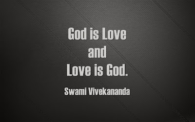 God is love and love is God.
