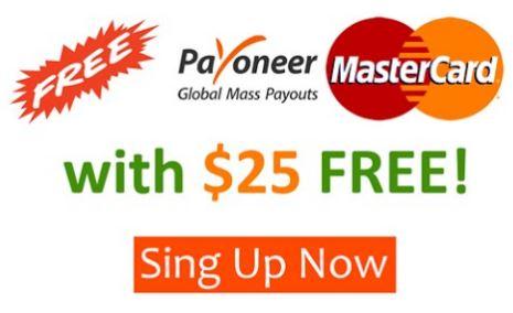 Get $25 FREE