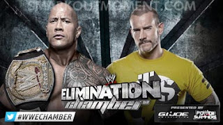 Watch WWE Elimination Chamber 2013 CM Punk vs Rock Match Online Free