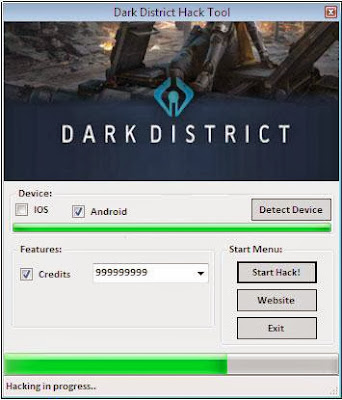 Dark District Hack