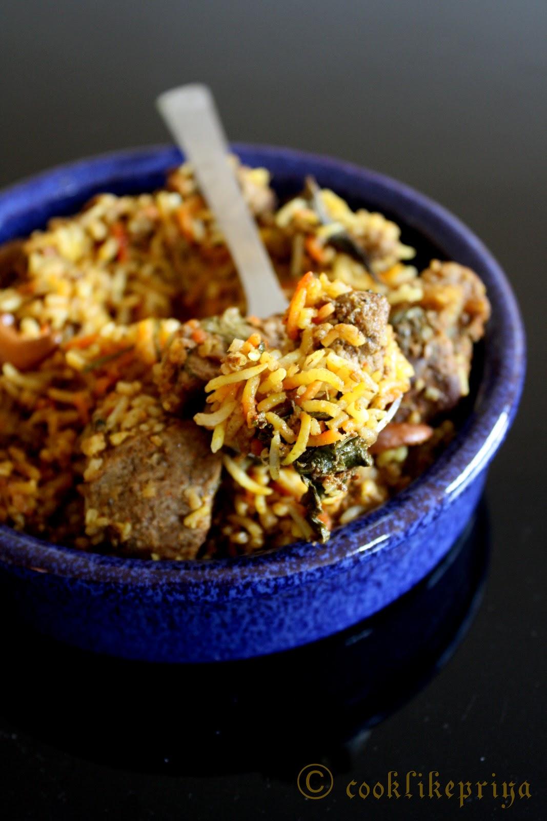 Cook like priya hyderabadi mutton biryani kachi biryani hyderabadi mutton biryani kachi biryani restaurant style mutton dum biryani forumfinder Images