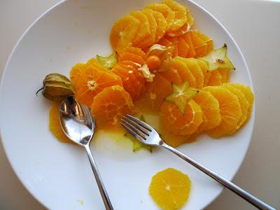 oranges pomarańcze
