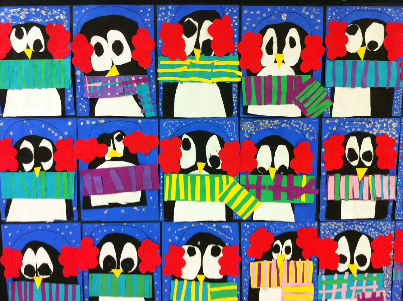 Apex elementary art january 2012 for Penguin project