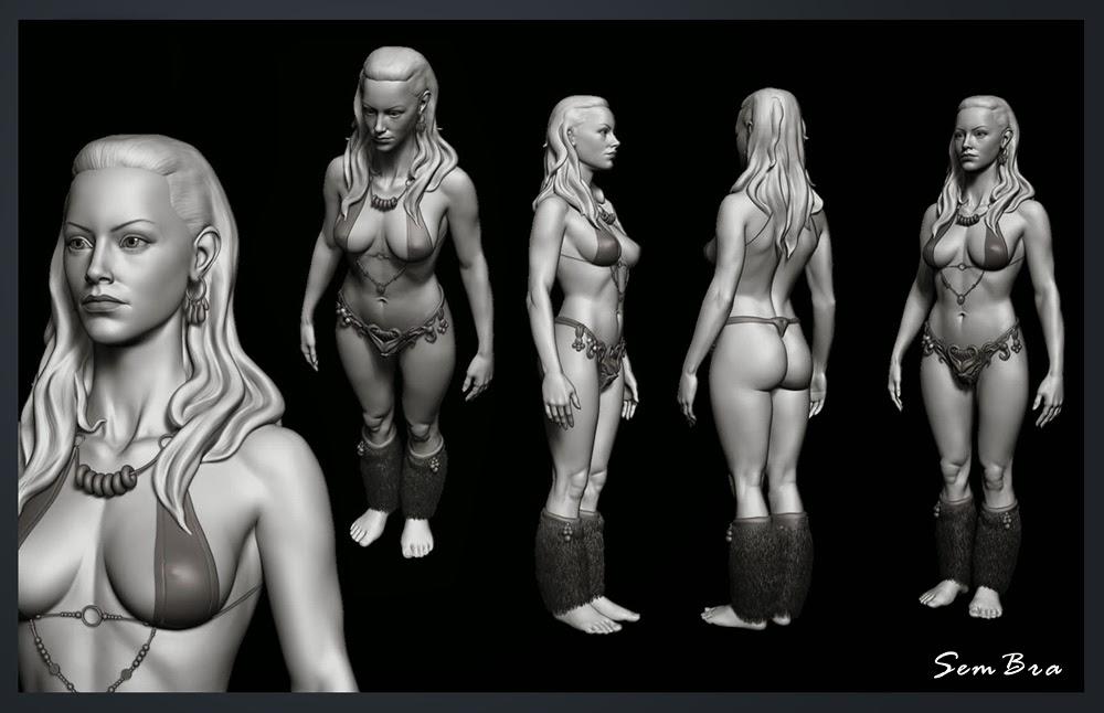Sembra Female Anatomy In 3d