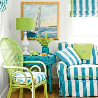 bright coastal cottage