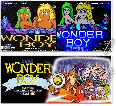 Wonder Boy, toda una leyenda