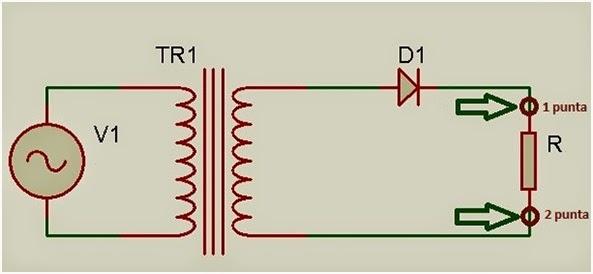 Circuito Rectificador : Electrónica programación y mas rectificador de media onda