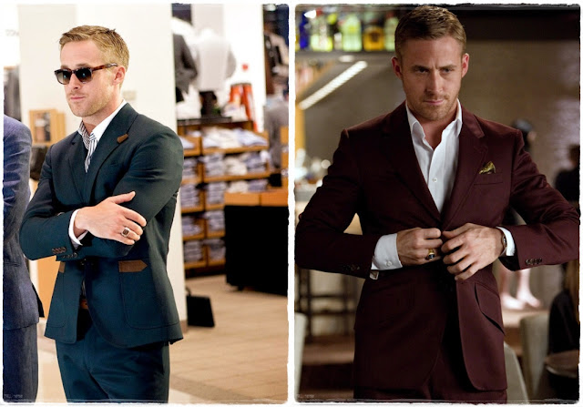 Ryan Gosling trajes Crazy, Stupid, Love