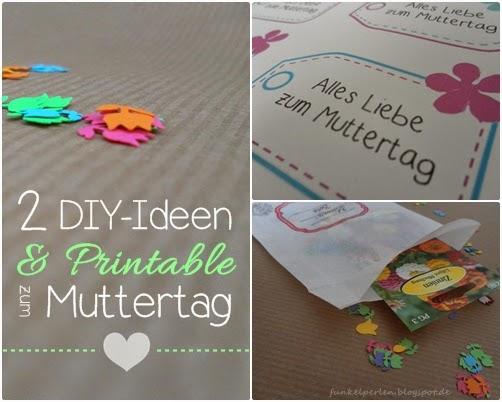DIY & Printable zum Muttertagv ia funkelperlen.blogspot.de