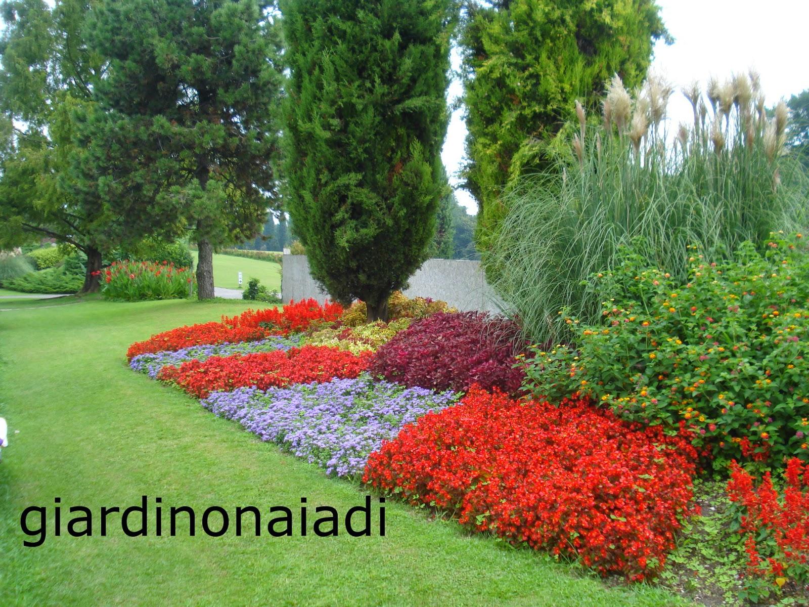 Il giardino delle naiadi un giardino bello tutto l 39 anno - Idee per aiuole giardino ...