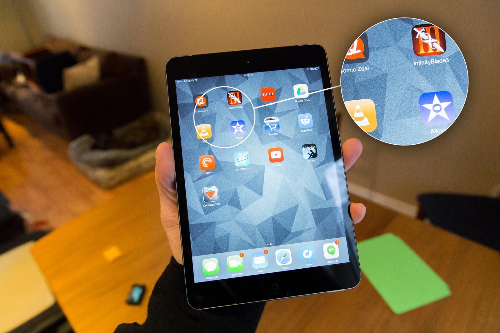 Apple's iPad mini with Retina Display