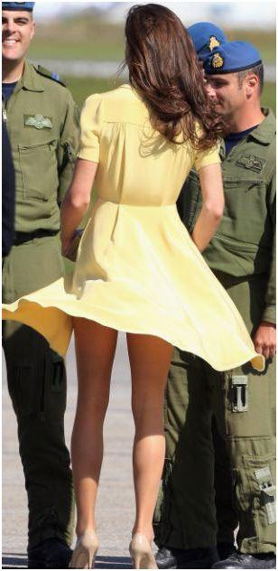 Kate Middleton Wardrobe Malfunction